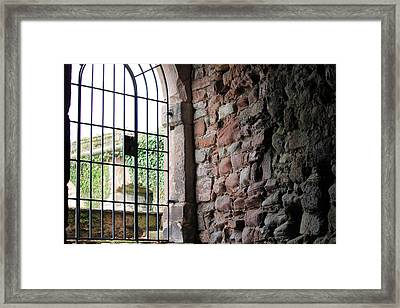 The Gate Framed Print by Laura Watts