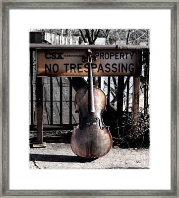 The Gatekeeper  Framed Print by Steven  Digman