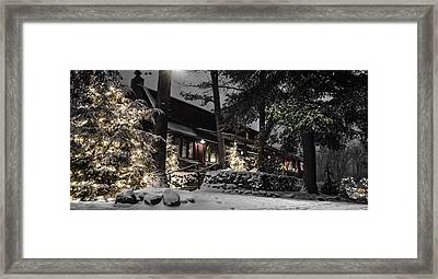 The Gateway Lodge Framed Print by Anthony Thomas