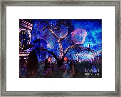 The Gathering  Framed Print by Alana Ranney
