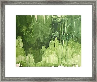 The Gathering Framed Print by Elizabeth Carr