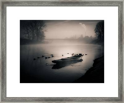 The Gathering Framed Print by Silvijo Selman