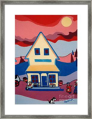 The General Store Framed Print by Joyce Gebauer