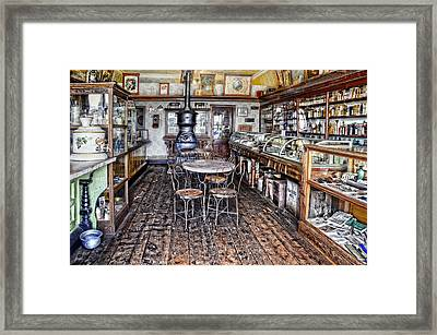 The General Store Framed Print by Ken Smith