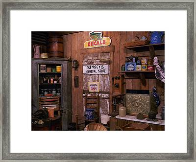 The General Store Framed Print by Warren Thompson