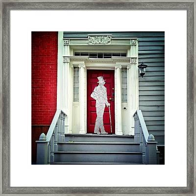 The Gentleman Caller Framed Print by Natasha Marco