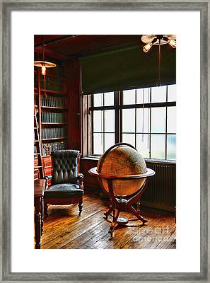 The Gentleman's Study Framed Print by Paul Ward