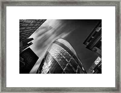 The Gherkin - London. Framed Print by Ian Hufton