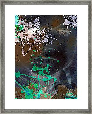 The Ghost Of Paintings Past Framed Print by Irma BACKELANT GALLERIES