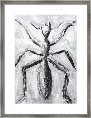 The Giant Cave Ant Framed Print by Kazuya Akimoto