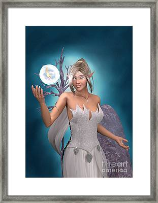 The Gift Framed Print by Elle Arden Walby