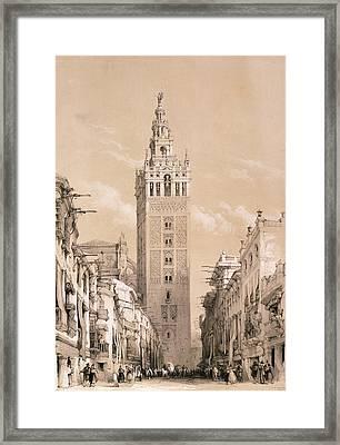 The Giralda, Seville Framed Print by David Roberts