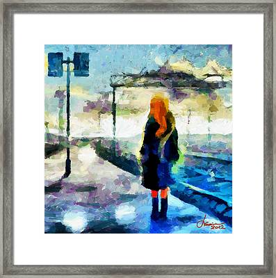 The Girl From The Dream Tnm Framed Print by Vincent DiNovici