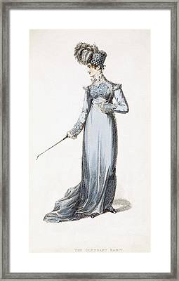 The Glengary Habit, Fashion Plate Framed Print by English School