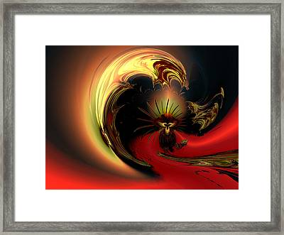 The Glory Of His Eminance Framed Print by Claude McCoy