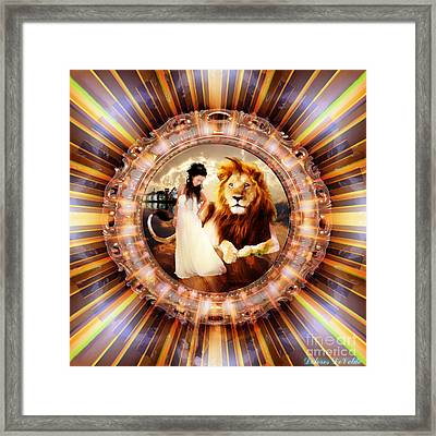The Glory Realm Framed Print by Dolores Develde