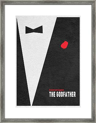 The Godfather Framed Print by Ayse Deniz