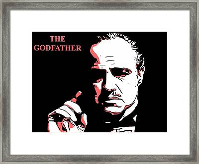 The Godfather Framed Print by Dan Sproul