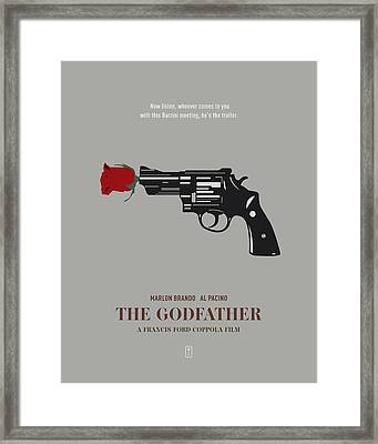 The Godfather Framed Print by Smile In The  Mind