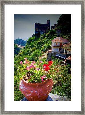 The Godfather Villages Of Sicily Framed Print by David Smith