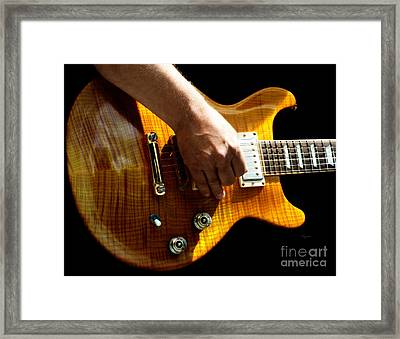 The Gold Standard  Framed Print by Steven  Digman