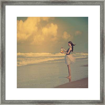 The Golden Fish Framed Print by Anka Zhuravleva