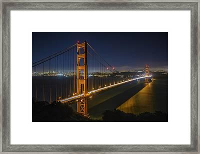 The Golden Gate Bridge Framed Print by Rick Berk