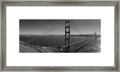The Golden Gate Bridge Framed Print by Twenty Two North Photography
