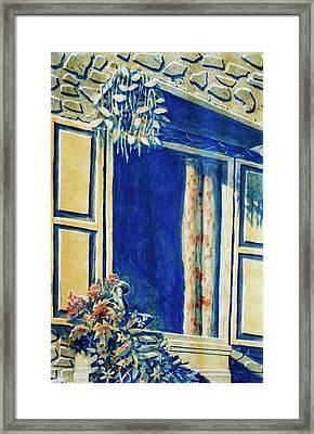 The Good Morning Window Framed Print by Adhijit Bhakta