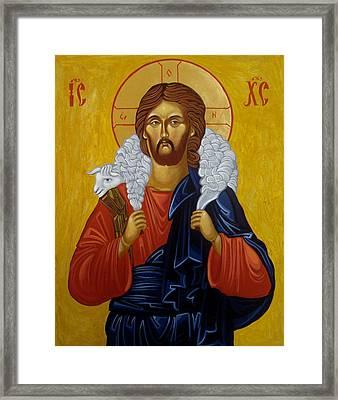 The Good Shepherd Framed Print by Joseph Malham