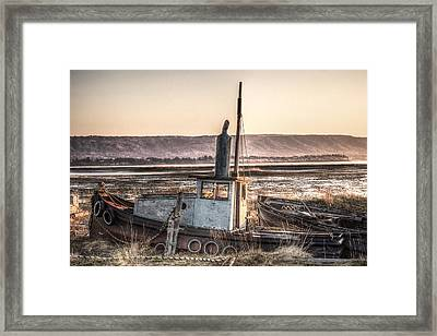 The Good Ship Olive Framed Print by William Fields