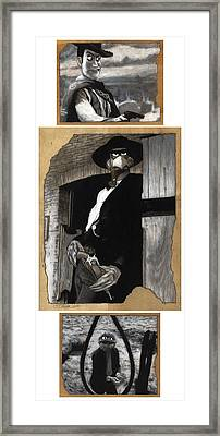 The Good The Bad And The Grouchy Framed Print by Justin Clark