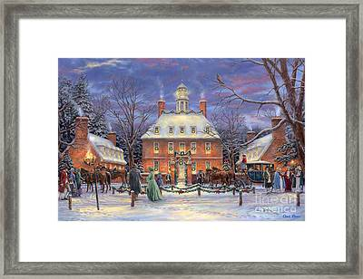 The Governor's Party Framed Print by Chuck Pinson