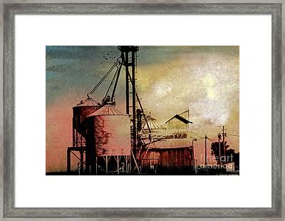 The Granary Framed Print by R Kyllo
