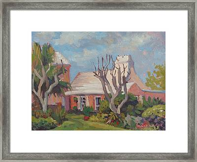 The Granaway Framed Print by Dianne Panarelli Miller