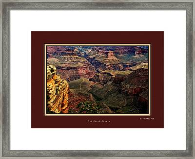The Grand Canyon Framed Print by Tom Prendergast