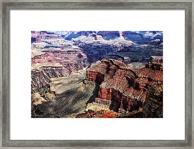 The Grand Canyon V Framed Print by Tom Prendergast