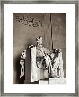 The Great Emancipator Framed Print by Olivier Le Queinec