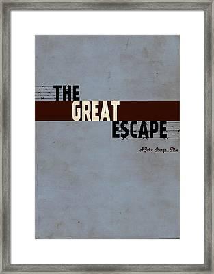 The Great Escape Framed Print by Ayse Deniz