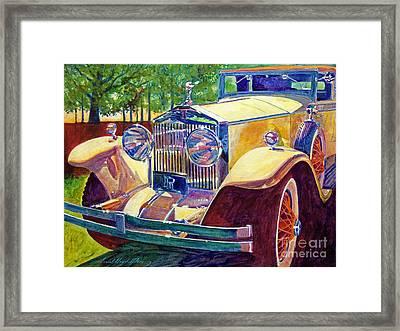The Great Gatsby Framed Print by David Lloyd Glover