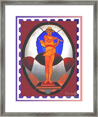 The Great God Pan Plays Framed Print by Patricia Keller