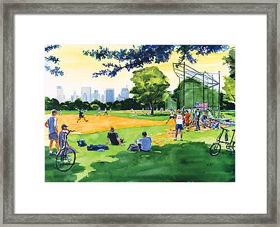 The Great Lawn Framed Print by Clifford Faust
