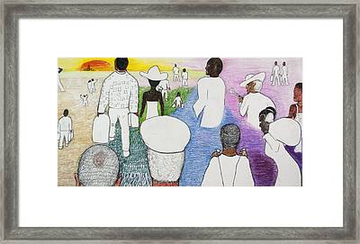 The Great Migration Framed Print by Jeremy Phelps