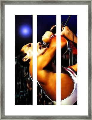 The Great Pretender Framed Print by Steve K