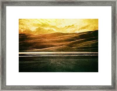 The Great Sand Dunes Framed Print by Brett Pfister