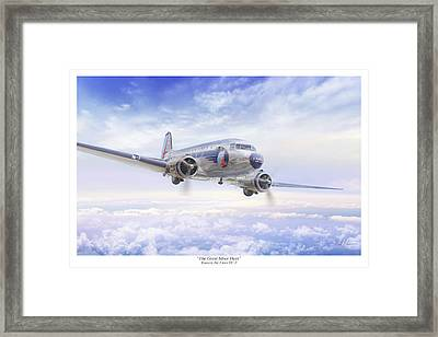 The Great Silver Fleet Framed Print by Mark Karvon