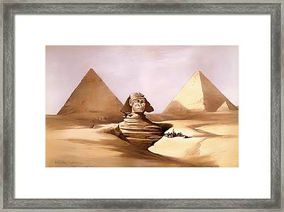 The Great Sphinx Framed Print by Mountain Dreams