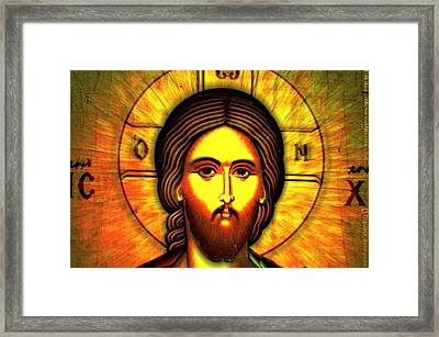 The Greek God Framed Print by Jacques Saade