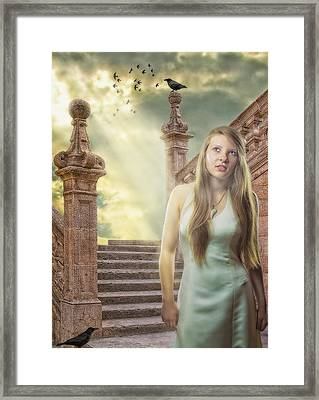 The Greek Goddess Framed Print by Erik Brede