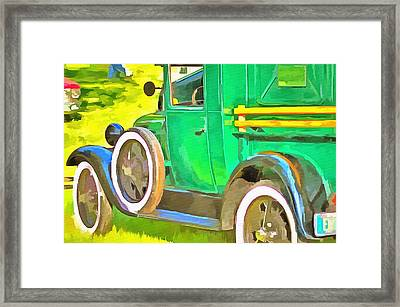 The Green Machine  Framed Print by L Wright